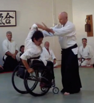 Jeramy and Molly at 4th Dan aikido demo.