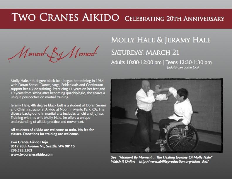 Molly and Jeramy Two Cranes seminar 2015